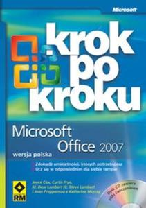 Krok po kroku Microsoft Office 2007 + CD - 2825688290