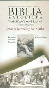 Audio Biblia cz 2 Ewangelia wg św Marka (Płyta CD) - 2825688328