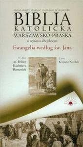 Biblia katolicka warszawsko - praska Ewangelia według świętego Jana część 4 CD - 2825688330