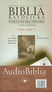 Audio Biblia cz. 1 Listy cz. I (Płyta CD) - 2825688332