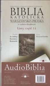 Audio Biblia katolicka Warszawsko - Praska część 2 (Płyta CD) - 2825688333