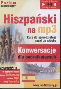 Hiszpański na MP3 Konwersacje dla początkujący (Płyta CD)