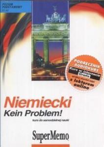 Niemiecki Kein problem! Kurs do samodzielnej nauki MP3 (Płyta CD) - 2825688942