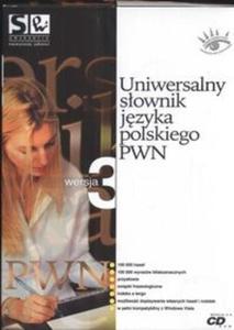 Uniwersalny słownik języka polskiego PWN wersja 3 (Płyta CD)