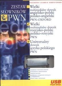Zestaw słowników PWN PenDrive (Płyta CD) - 2825689003