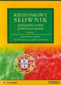 Kieszonkowy słownik portugalsko polski i polsko portugalski (Płyta CD)