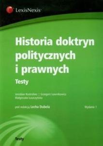 Historia doktryn politycznych i prawnych - 2825690524