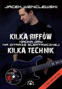 Kilka riffów Kilka technik z płytą DVD - 2825690658