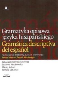 Gramatyka opisowa języka hiszpańskiego