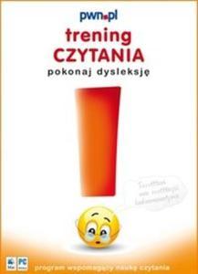 Trening czytania - pokonaj dysleksję. (Płyta CD) - 2825691367