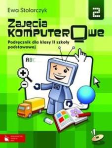 Zajęcia komputerowe 2 Podręcznik z płytą CD - 2825691492