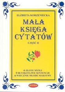 Mała księga cytatów 2 - 2825693195