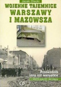 Wojenne tajemnice Warszawy i Mazowsza + CD - 2825693469