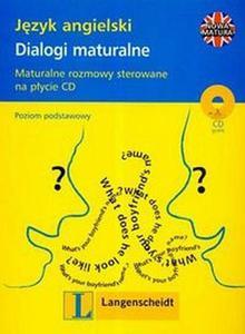 Język angielski dialogi maturalne + CD - 2825650426