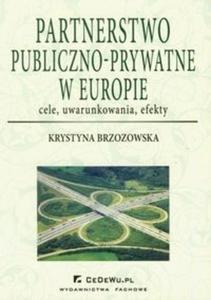 Partnerstwo publiczno-prywatne w Europie
