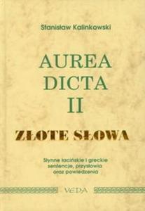 Aurea dicta II Złote słowa - 2825695525
