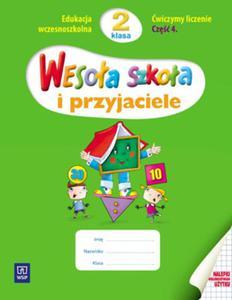 Wesoła szkoła i przyjaciele 2 Ćwiczymy liczenie Część 4 - 2825696402