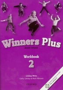Winners Plus 2. Workbook. Klasy 4-6, szkoła podstawowa. Język angielski. Zeszyt ćwiczeń - 2825697006