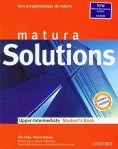 Matura Solutions Upper-Intermediate student's book with CD