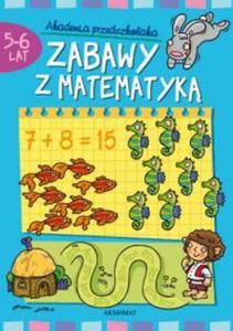 Zabawy z matematyk� 5-6 lat Akademia przedszkolaka - 2825697856