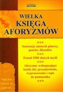 Wielka księga aforyzmów - 2825697966