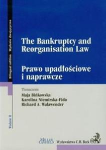 The Bankruptcy and Reorganisation Law Prawo upadłościowe i naprawcze - 2825698734