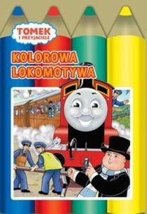 Tomek i przyjaciele Kolorowa lokomotywa