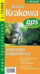 Okolice Krakowa - mapa turystyczna gps - 2825699875