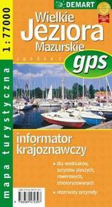 Wielkie Jeziora Mazurskie - mapa turystyczna gps - 2825699882