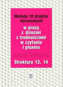 Metoda 18 struktur wyrazowych. Zeszyt �wicze� 13, 14 - 2825699977