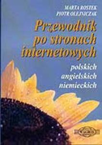Przewodnik po stronach internetowych polskich angielskich niemieckich - 2825700276