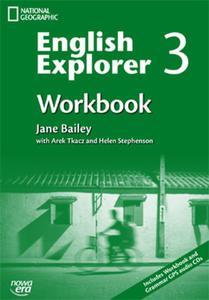 English Explorer 3. Workbook. Gimnazjum. Język angielski. Zeszyt ćwiczeń (+3 CD)