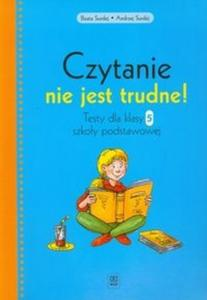 Czytanie nie jest trudne! Klasa 5, szkoła podstawowa. Język polski. Testy - 2825703060