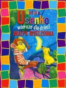 Małpa wieczorna Wiersze dla dzieci - 2825703312