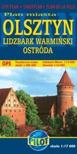 Plan Miasta. Olsztyn, Lidzbark Warmiński, Ostróda