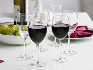 Kieliszki do wina czerwonego Diamond - 2859204499