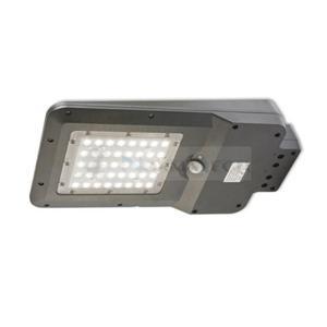 Lampa uliczna solarna z czujnikiem ruchu i zmierzchu SOLAR LED STREET 15W Kobi KFNSU15NB 1600lm parkowa z akumulatorem barwa neutralna - 2860623057
