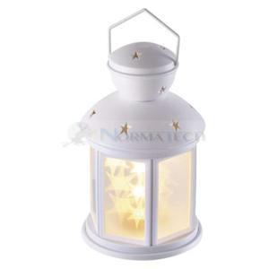 Dekoracja Lampion LED Gwiazdki 20cm 3x AA WW Timer  - 2860622796