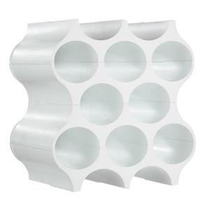 Stojak na butelki biały set-up - 2852163070