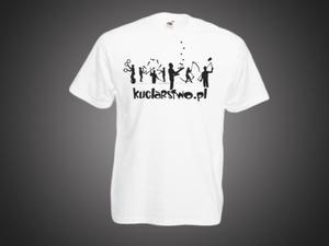Koszulka Męska - biała - 2296843954