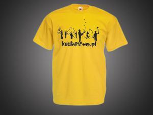 Koszulka Męska - żółta - 2296843955