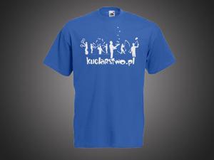 Koszulka Męska - niebieska - 2296843960