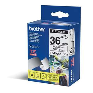 Brother etykiety, elastyczna (flexi) 36 mm. x 8 m. TZ-FX261, TZFX261, TZE-FX261, TZEFX261 - 2824980075