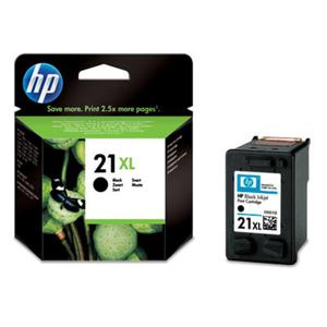 HP tusz Black Nr 21 XL, Nr21XL, C9351CE - 2824982485