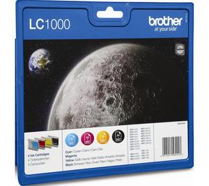 Brother 4 x tusz CMYK LC-1000VALBP, LC1000VALBP - 2824980245