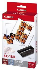 Canon papier termosublimacyjny KC18IL, KC-18IL, 7740A001AH, 22x17,3mm - 2824980362