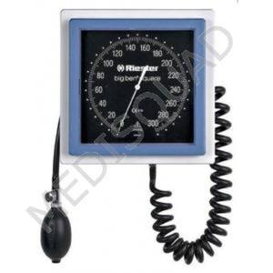 Ciśnieniomierz zegarowy Riester Big Ben (model ścienny, kwadratowy) - 2794086429