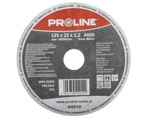 PROLINE Tarcza do cięcia stali nierdzewnej Rozmiar 125x1.2 mm -44012 - 2829408544