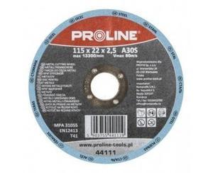 PROLINE Tarcza do cięcia metalu Rozmiar 125x2.5 mm - 44112 - 2829408546