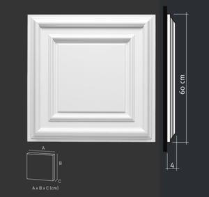 Panel ścienny lub dekoracja sufitowa (kaseton), sztukateria Orac Decor, kolekcja Orac Luxxus - F30 - 2411678104